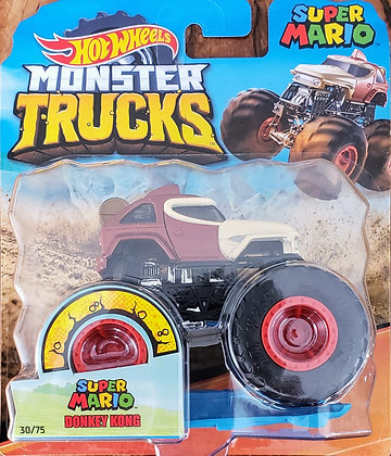 Hot Wheels Monster Trucks - Super Mario Donkey Kong