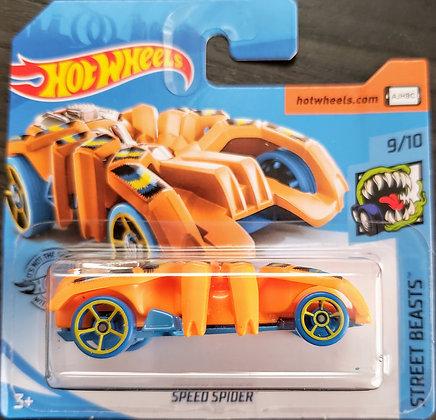 Hot Wheels Street Beasts - Speed Spider