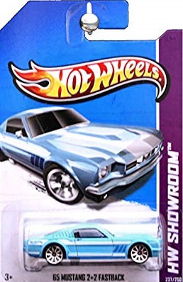 Hot Wheels Showroom - 65 Mustang 2+2 Fastback
