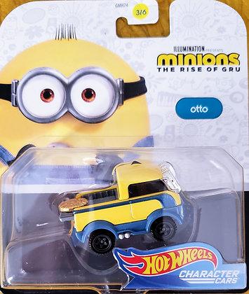 Hot Wheels Character Cars - Minions Otto