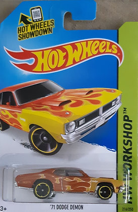 Hot Wheels Workshop - '71 Dodge Demon