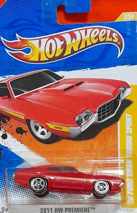 Hot Wheels Premiere - '72 Ford Gran Torino Sport