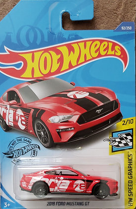 Hot Wheels Speed Graphics - 2018 Ford Mustang GT