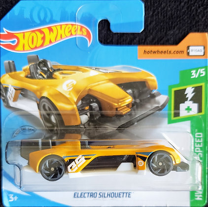 Hot Wheels Green Speed - Electro Silhouette