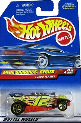 Hot Wheels Mega Graphics - Turbo Flame
