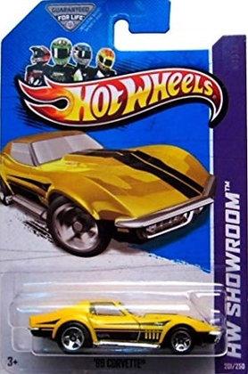 Hot Wheels Showroom - '69 Corvette