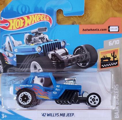 Hot Wheels Baja Blazers - '42 Willys MB Jeep