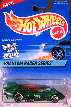 Hot Wheels Phantom Racer - Power Rocket