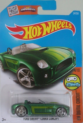 Hot Wheels Digital Circuit - Ford Shelby Cobra Concept