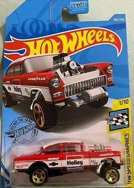 Hot Wheels Speed Graphics - '55 Chevy Bel Air Gasser