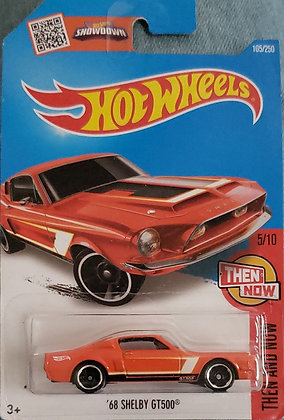 Hot Wheels Then and Now - '68 Shelby GT500