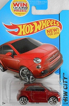 Hot Wheels City - Fiat 500