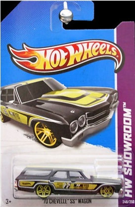 Hot Wheels Showroom - '70 Chevelle SS Wagon (Mooneyes)