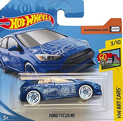 Hot Wheels Art Cars - Ford Focus RS