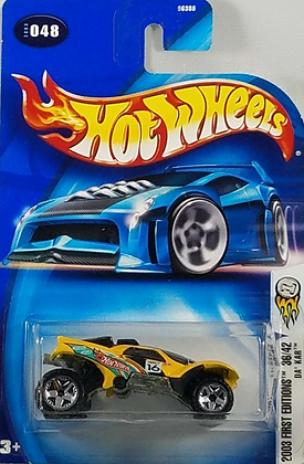 Hot Wheels First Editions - Da'Kar