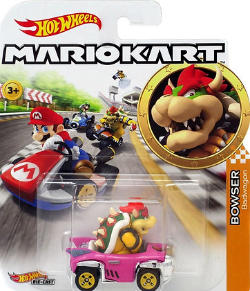 Hot Wheels Mario Kart - Bowser Badwagon
