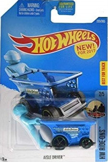 Hot Wheels Ride-Ons - Aisle Driver