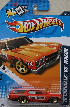 Hot Wheels City Works - '70 Chevelle SS Wagon