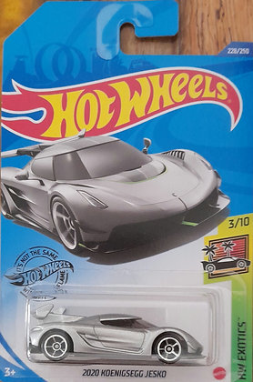 Hot Wheels Exotics - 2020 Koenigsegg Jesko