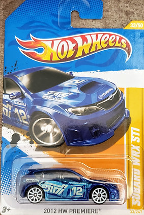 Hot Wheels Premiere - Subaru WRX STI