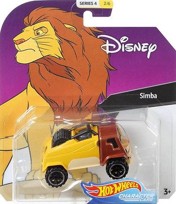 Hot Wheels Character Cars - Disney Simba