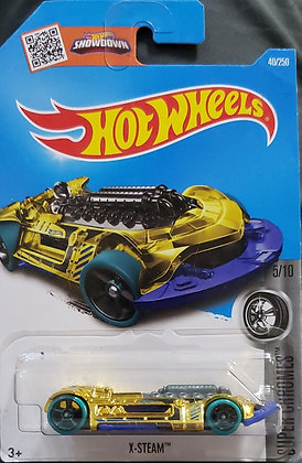 Hot Wheels Super Chromes - X-Steam