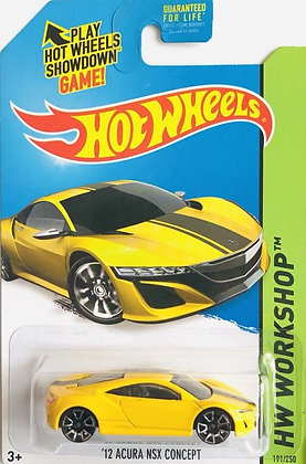 Hot Wheels Workshop - '12 Acura NSX Concept