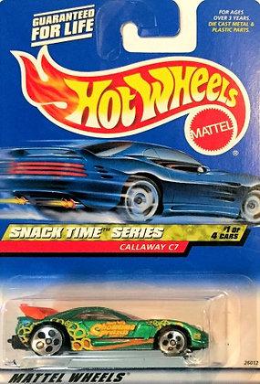 Hot Wheels Snack Time - Callaway C7