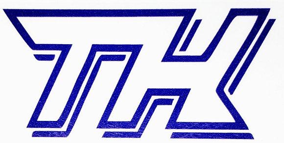 Hot Wheels Adesivos - Super T-Hunt Azul