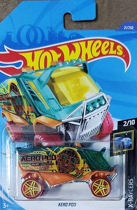 Hot Wheels X-Raycers - Aero Pod