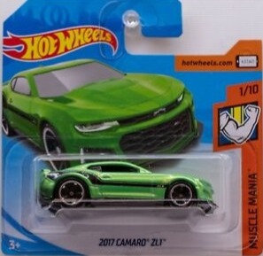 Hot Wheels Muscle Mania - 2017 Camaro ZL1