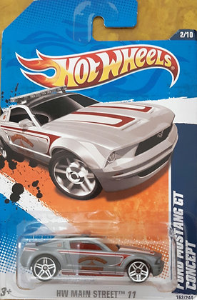 Hot Wheels Main Street - Ford Mustang GT Concept