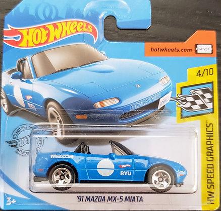 Hot Wheels Speed Graphics - '91 Mazda MX-5 Miata
