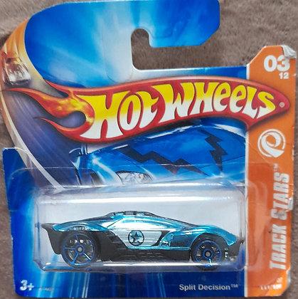 *Embalagem danificada* Hot Wheels Track Stars - Split Decision