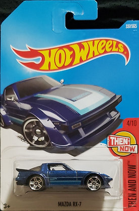 Hot Wheels Then and Now - Mazda RX-7