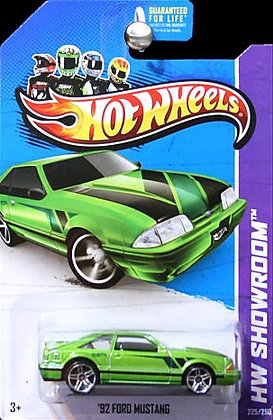 Hot Wheels Showroom - '92 Ford Mustang