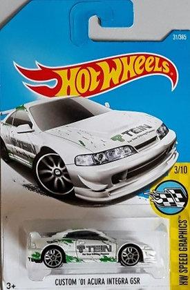 Hot Wheels Speed Graphics - Custom '01 Acura Integra GSR