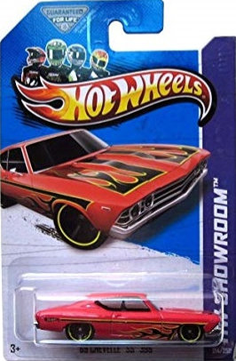 Hot Wheels Showroom - '69 Chevelle SS 396
