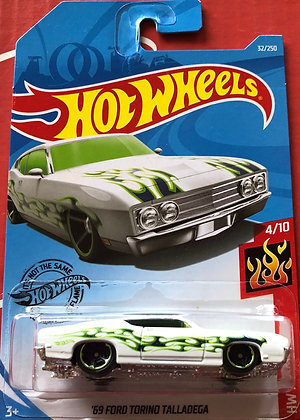Hot Wheels Flames - '69 Ford Torino Talladega