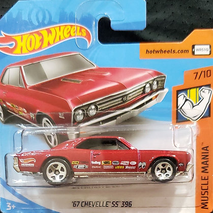 Hot Wheels Muscle Mania - '67 Chevelle SS 396