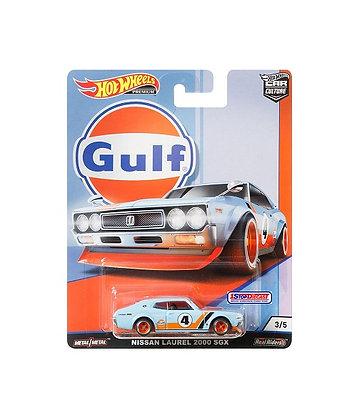 Hot Wheels Car Culture - Gulf Nissan Laurel 2000 SGX