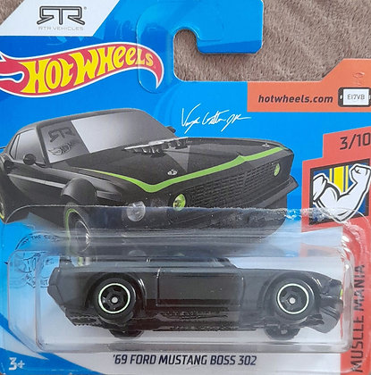 Hot Wheels Muscle Mania - '69 Ford Mustang Boss 302