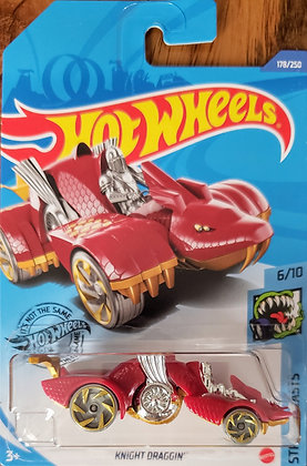 Hot Wheels Street Beasts - Knight Draggin'