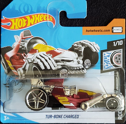 Hot Wheels Rod Squad - Tur-Bone Charged