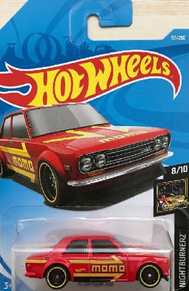 Hot Wheels Nightburnerz - '71 Datsun 510