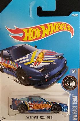 Hot Wheels Race Team - '96 Nissan 180SX Type X