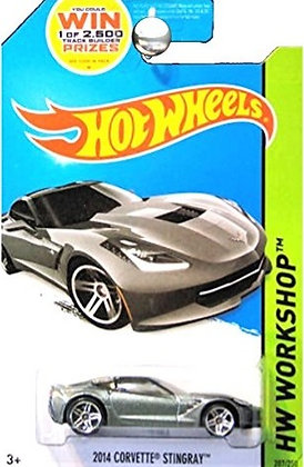 Hot Wheels Workshop - 2014 Corvette Stingray
