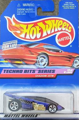 Hot Wheels Techno Bits - Shadow Jet