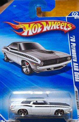 Hot Wheels Muscle Mania - '70 Plymouth AAR Cuda