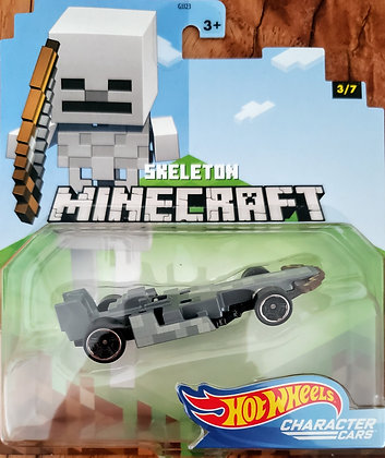 Hot Wheels Character Cars - Minecraft Skeleton